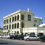 The Largs Pier Hotel at Largs Bay